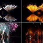 fuochi d'artificio, Francia, slow travel, puivert,