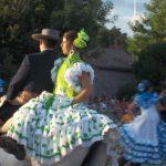 danze a cavallo, spagna, flamenco, costumi tradizionali