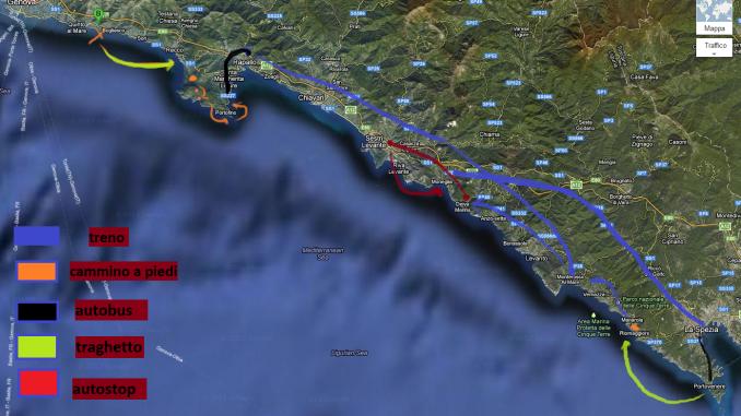 Liguria con Lentezza