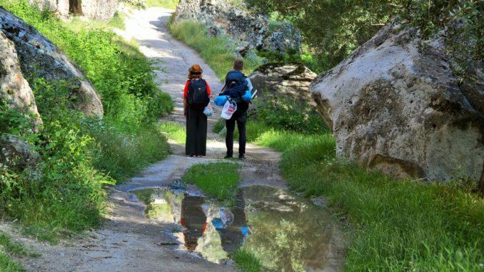 Viaggio lento in Cappadocia, Turchia, slow travel, autostoppista, pollice in su, mongolfiere, cappadocia, viaggi alternativi, donne in solitaria