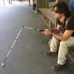 viaggiatore cieco