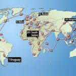 giro del mondo senza aerei