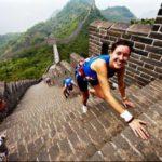 Maratona sulla muraglia cinese