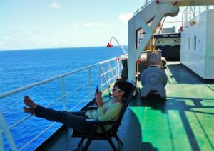 viaggiare in nave cargo