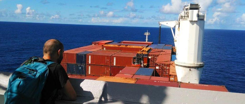viaggio in nave cargo