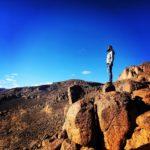 Claudio Pelizzeni sulle Montagne dell'Atlante in Marocco