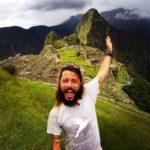 Claudio in Perù a Machu Picchu
