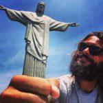 Claudio e il Cristo Redentore - Rio de Janeiro
