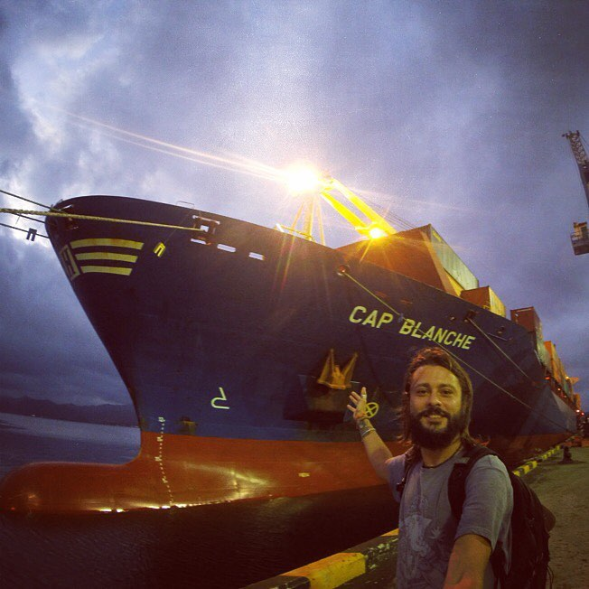 Traversata del Pacifico con la nave mercantile