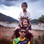 Nepal. Claudio e l'amore per i suoi fratellini