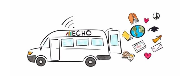 Le foto di Echo la biblioteca on the road