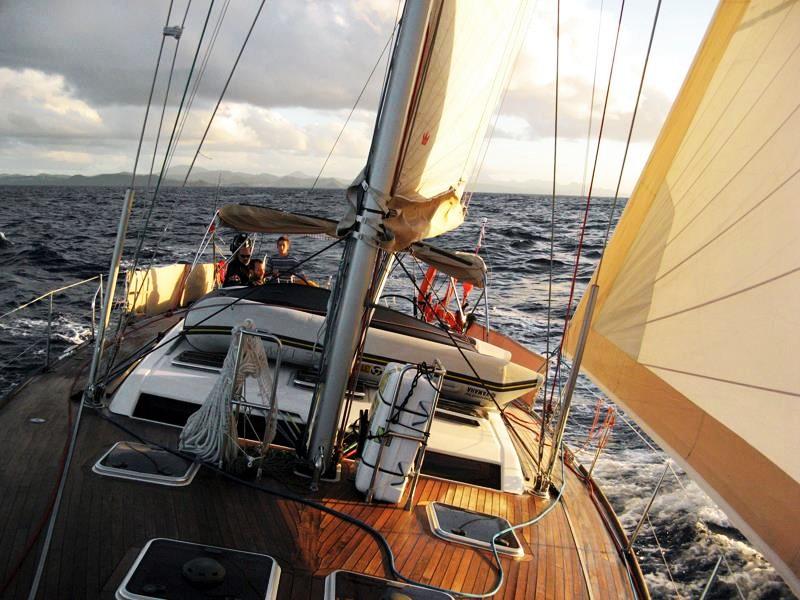 La traversata oceanica in Barcastop