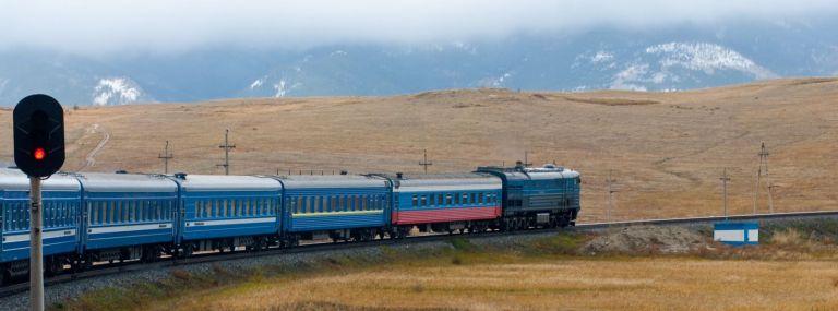 Il viaggio in treno più lungo del mondo: FOTO