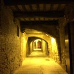 Strade notturne a Panicale