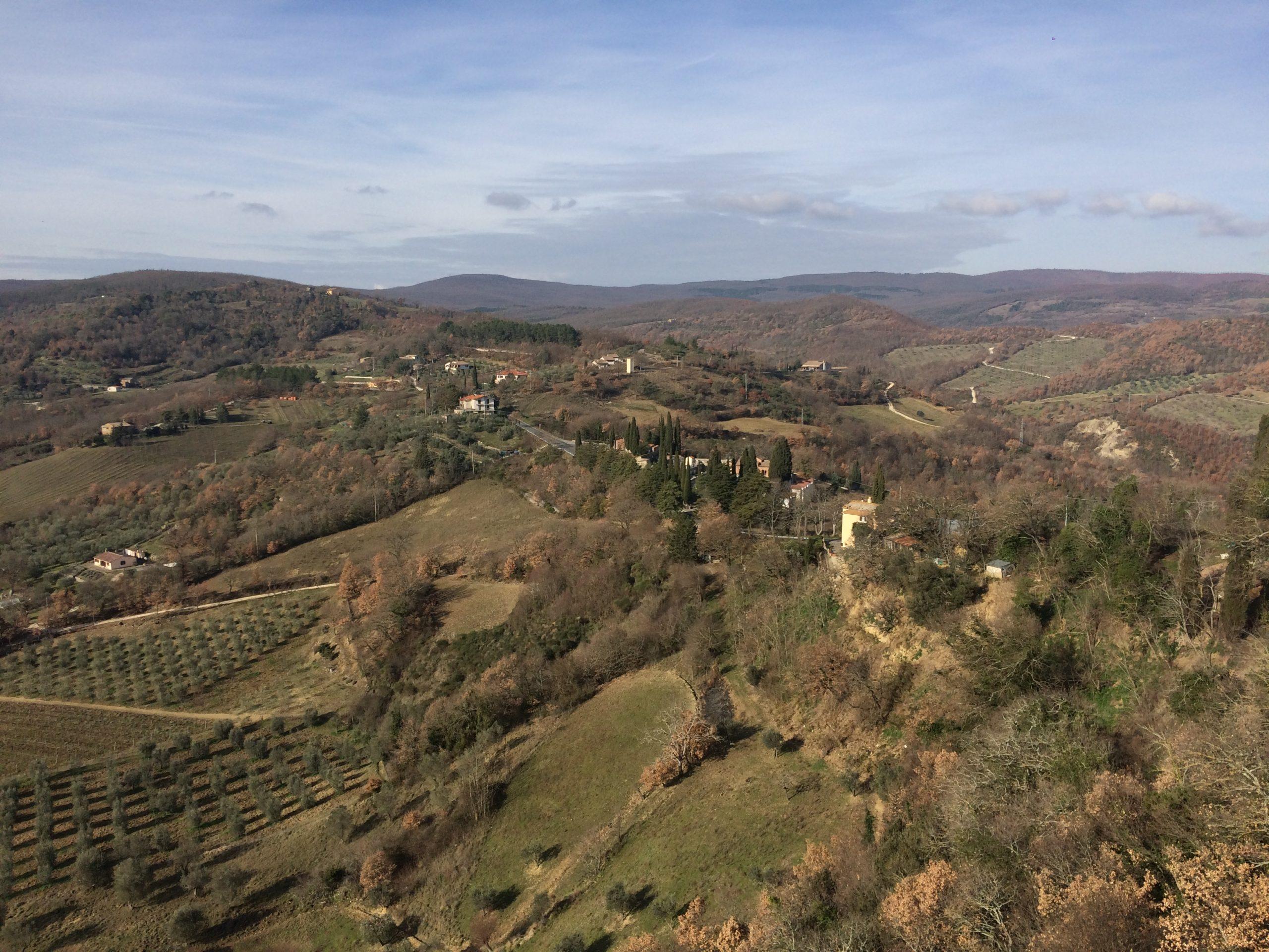 Panorama dintorni di Allerona