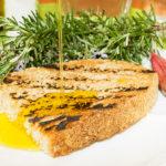 Bruschetta aglio e Olio Cornieto