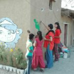 Vivere in Ashram, India, bambini