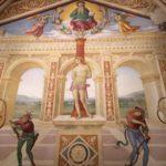 Dipinto del Perugino a Panicale