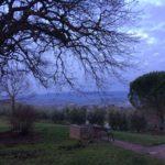 Panorama dall'Agriturismo Cornieto