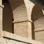 Antico Cotto Pievese ristrutturazione arcata