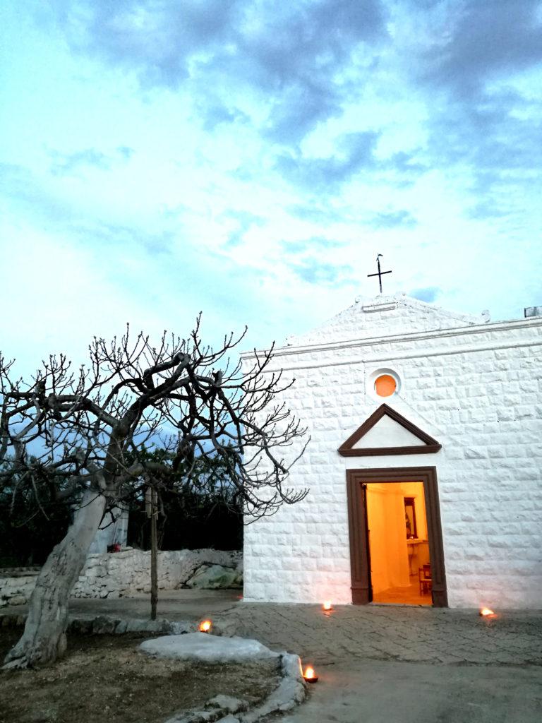 I riti della settimana santa in Puglia: la chiesa dell'Incoronata