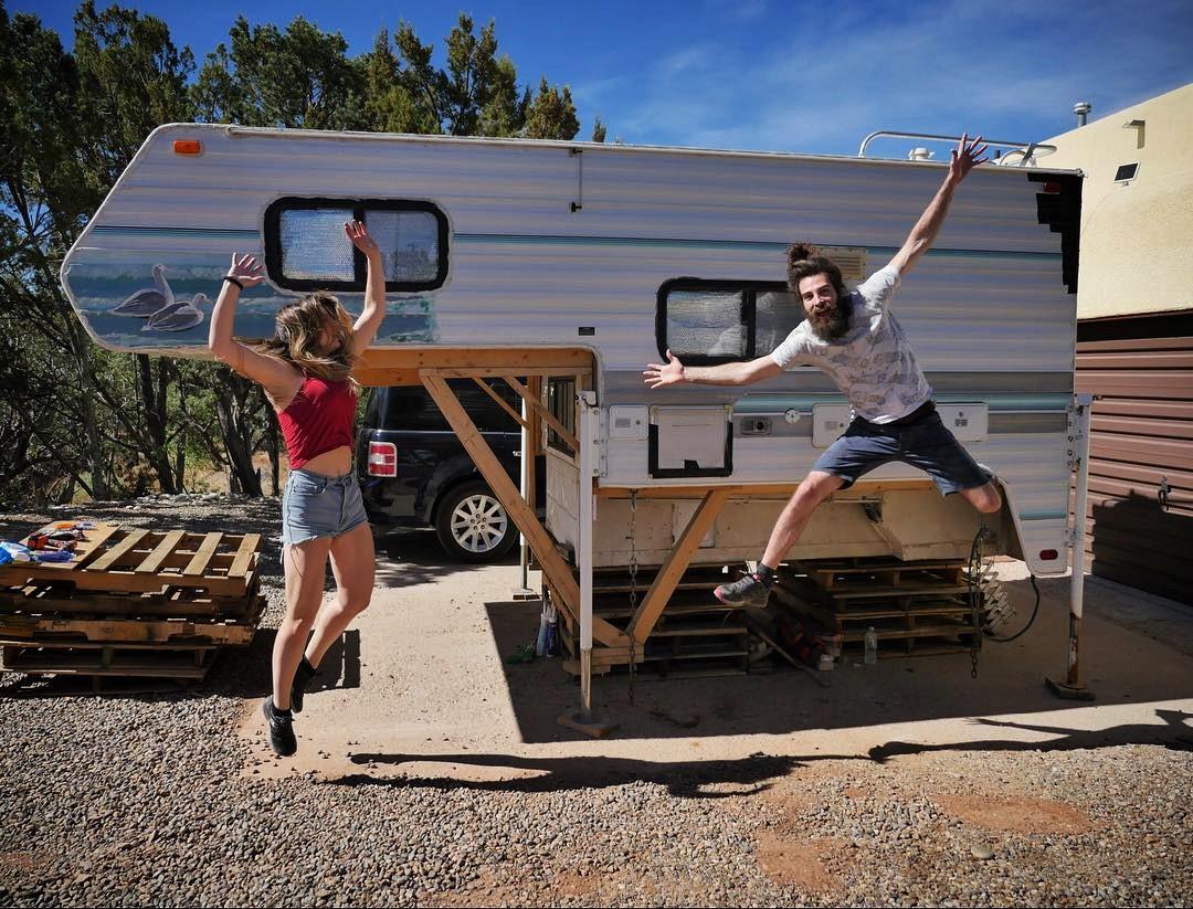Il viaggio in camper di Sara e Luca – le foto
