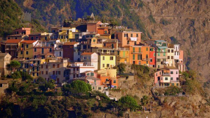 Liguria, villaggio