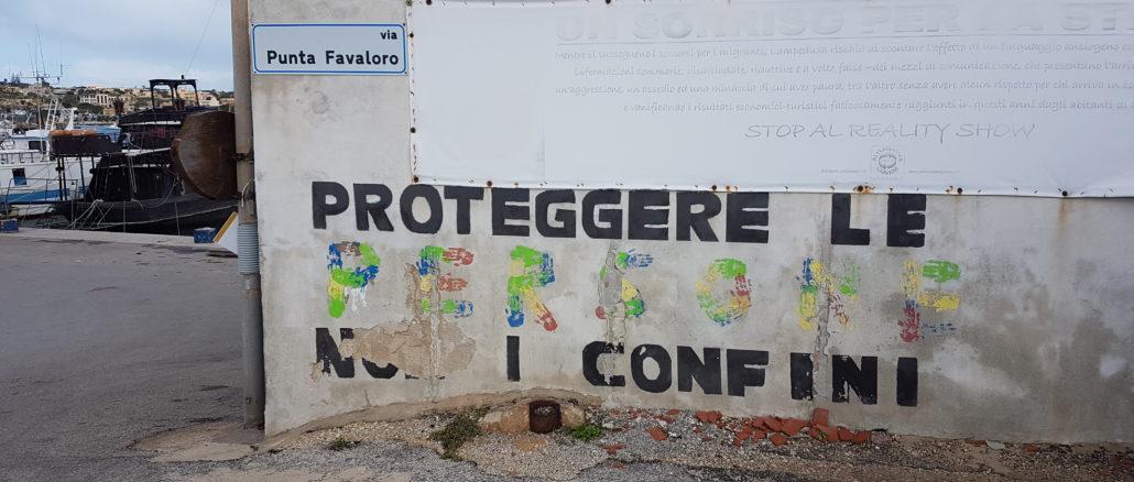 Lampedusa, lentezza, riflessioni