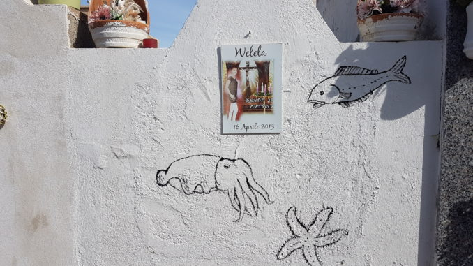 Lampedusa, lentezza, riflessioni, Welela