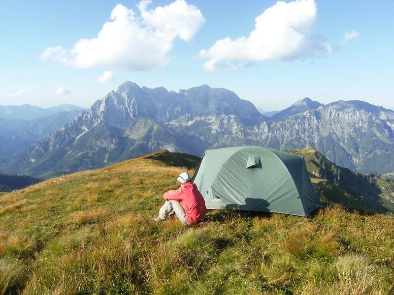 campeggio, avventura, outdoor, natura, panorama, viaggiare con lentezza, dormire all'aperto, gratuito