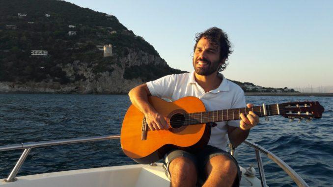 Giulio Voce, cantante a domicilio, concert house, musica, ospitalità gratuita, baratto,