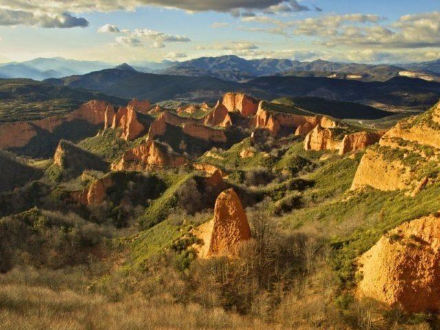 las medulas, Spagna, px, formazione rocce, campeggio selvaggio, wild camping