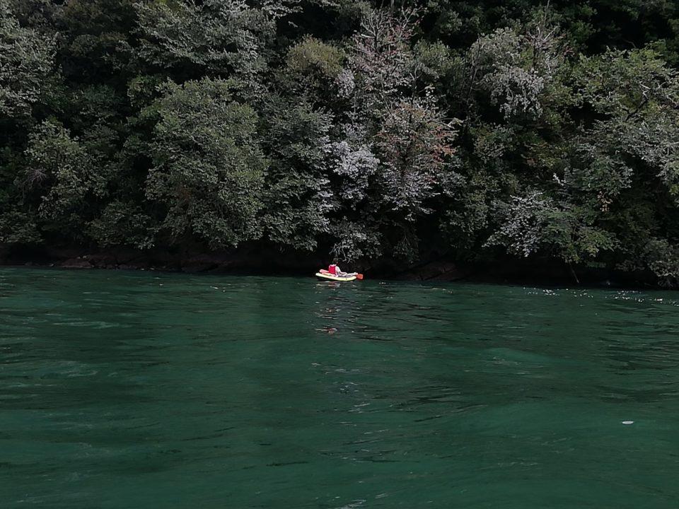 Lago di Como in kayak