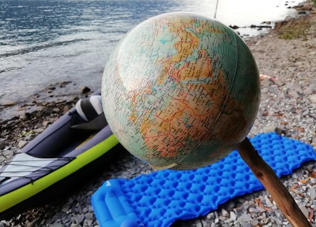 viaggio in canoa, slow travel, lago di como