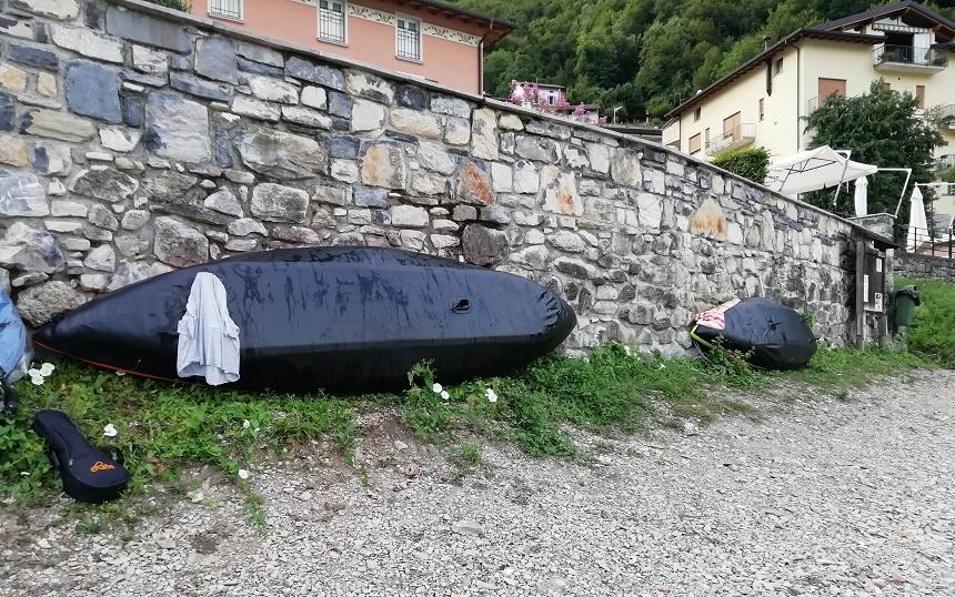 viaggio in kayak, italia, slow travel, viaggiare con lentezza