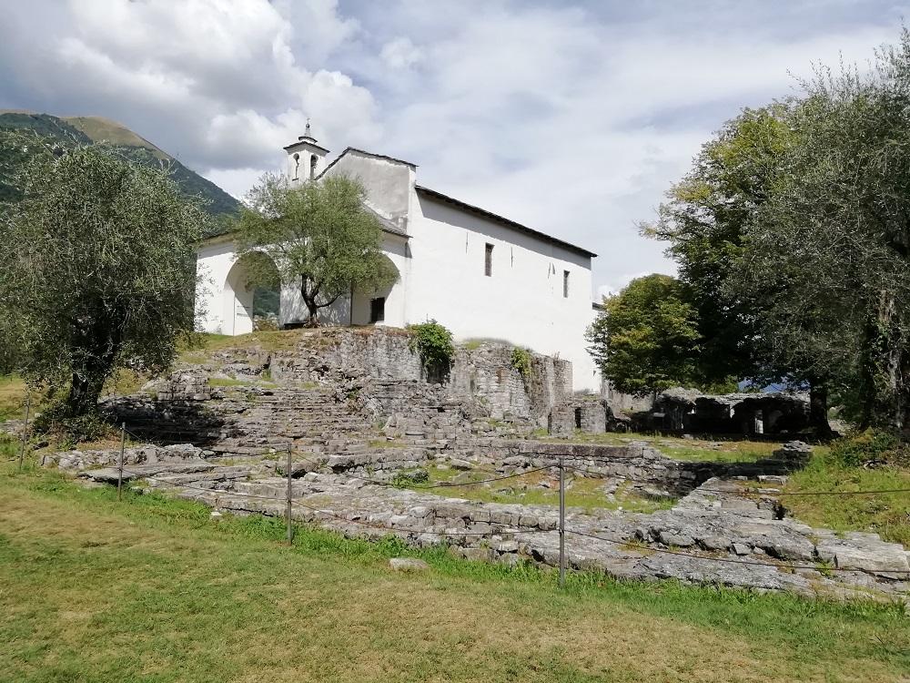 Chiesa di San Giovanni - Isola Comacina