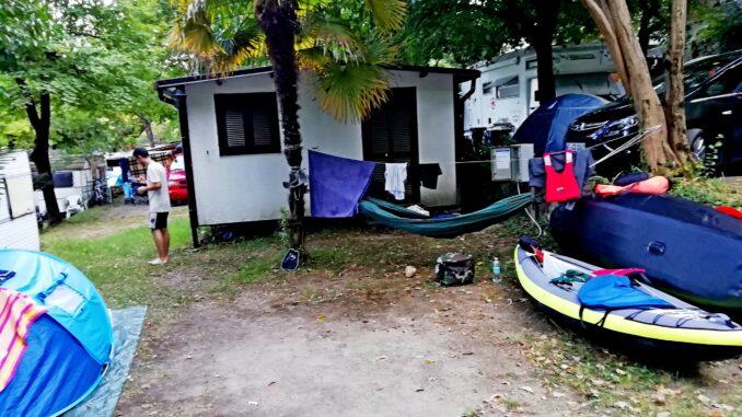Menaggio, Como, campeggio, camping, viaggiare con lentezza, slow travel, kayak, canoa