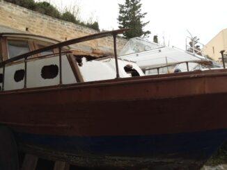 barca da restaurare