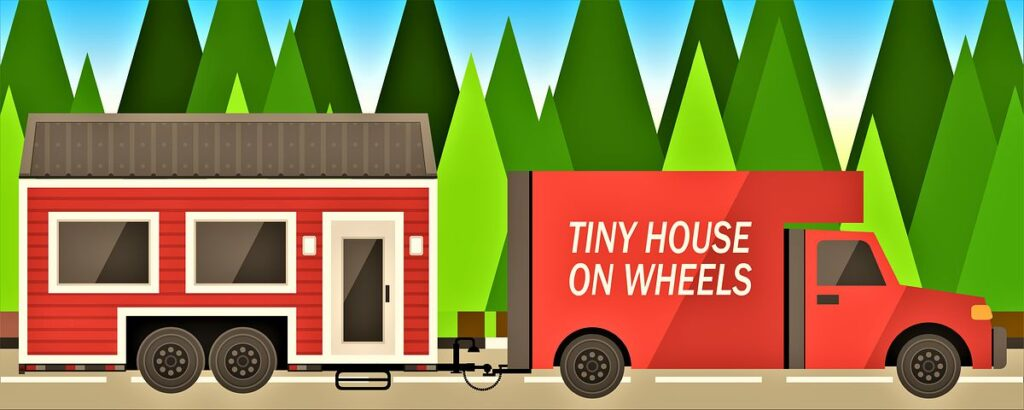 tiny home, tiny house, case piccole, case minuscole, stili di vita alternativi