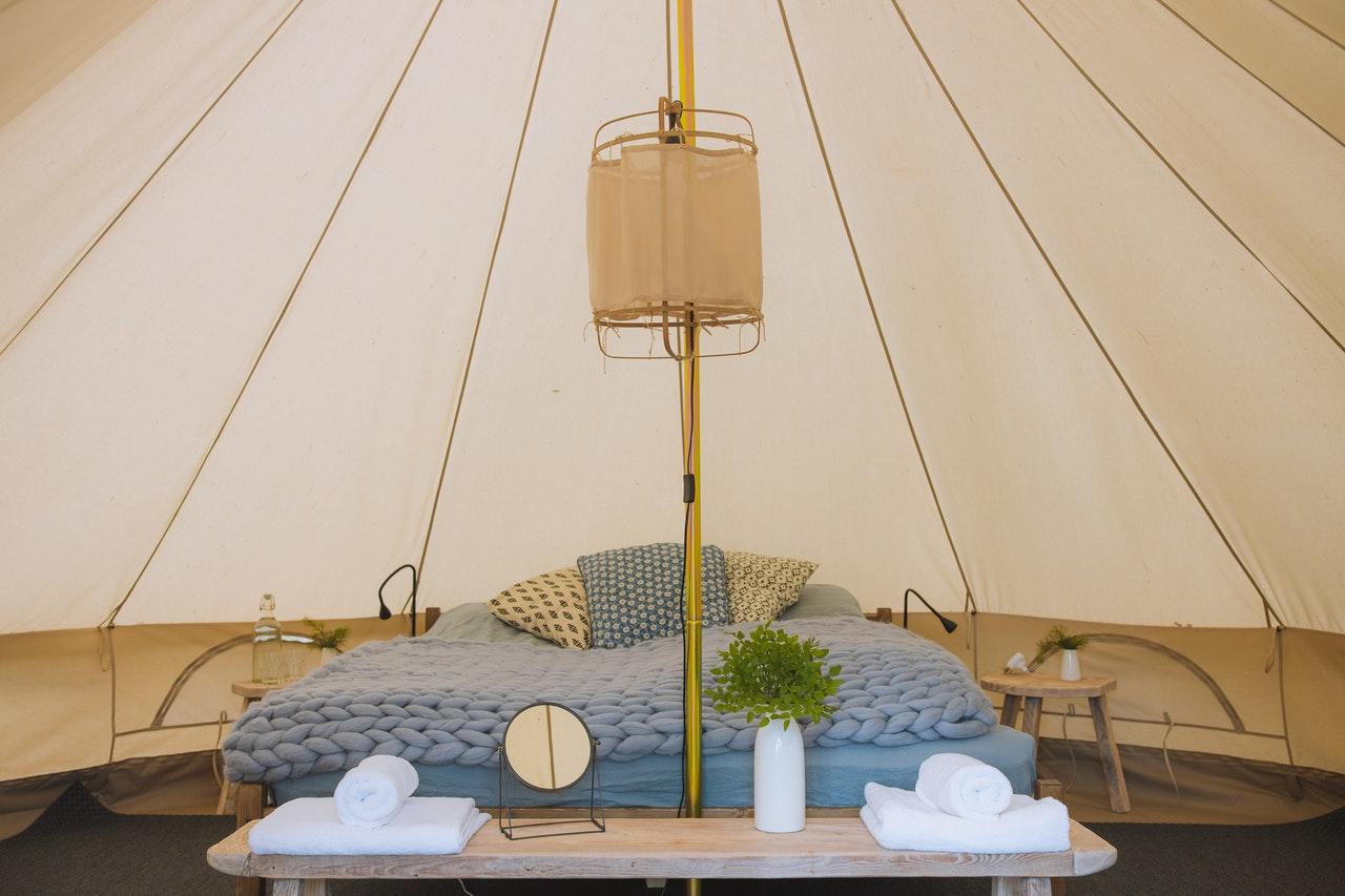 Glamping – tenda – yurta