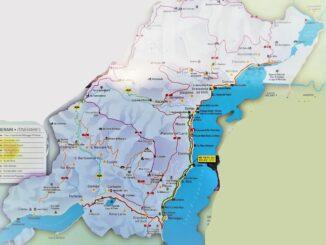 lario, como, slow travel, bike, bicicletta, viaggi a piedi, walking, percorsi, pista, antica strada regina, ciclovia