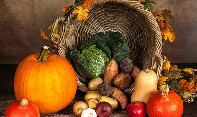 orto, autosufficienza alimentare, verdura, cesto, zucca, coltivare essere autosufficienti, autoproduzione, agricoltura, biologico