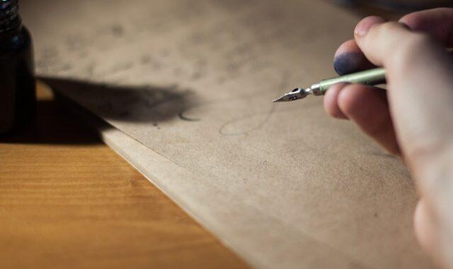 slow letter, writing, scrivere una lettera, lentezza