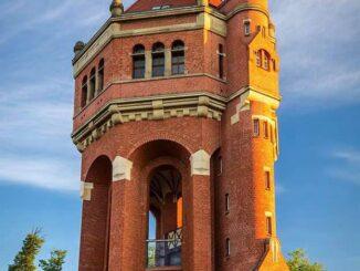 Breslavia, Polonia, torre dell'acqua, Wiśniowa, Sudecka, Wrocław, meraviglie del mondo