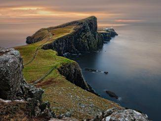 cape wraith, viaggi a piedi, cammini, scozia, scozzese, mucca scozzese, vacca, corna, pelo, animale, viaggiare con lentezza, highlands