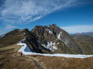 sentiero, percorso, circolo polare artico,
