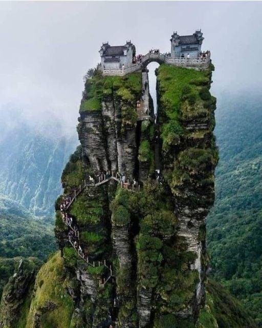 meraviglie del passato, architettura, slow travel, viaggiare con lentezza, Fanjingshan, Cina, parco naturale, Fanjing, riserva